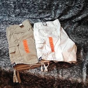 Union Bay cargo shorts two pair